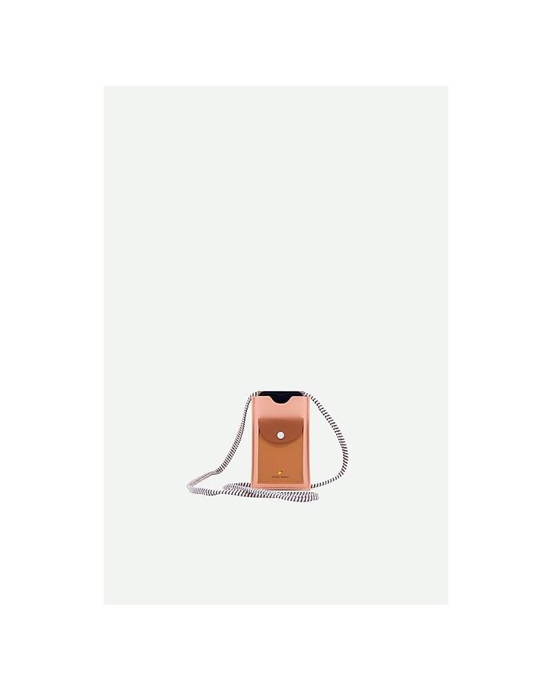 POCHETTE TÉLÉPHONE - STICKY LEMON - LEMONADE PINK+CINNAMON BROWN+APRICOT ORAGE