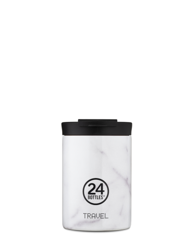 MUG ISOTHERME 350 ML - 24BOTTLES - TRAVEL TUMBLER - CARRARA