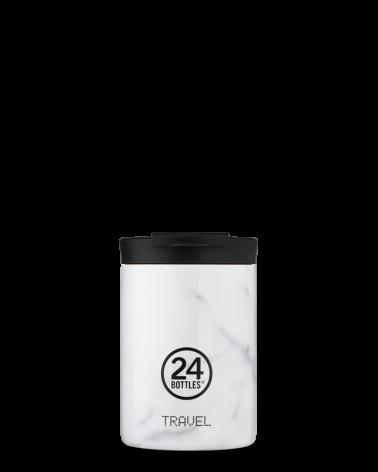 MUG ISOTHERME 350 ML - 24BOTTLES - TRAVEL TUMBLER - CARRARA