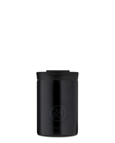 MUG ISOTHERME 350 ML - 24BOTTLES - TRAVEL TUMBLER - TUXEDO BLACK