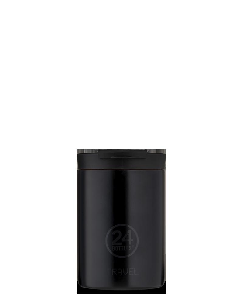 MUG ISOTHERME 350 ML - 24BOTTLES - TRAVEL TUMBLER - TUXEDO BLACK