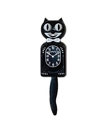 HORLOGE - MINI KIT CAT CLOCK - KITTY CAT NOIR