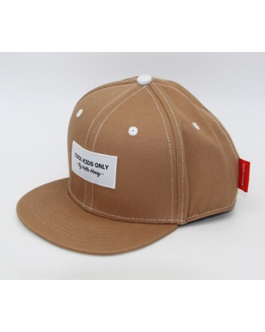 CASQUETTE - HELLO HOSSY - MINI BROWN