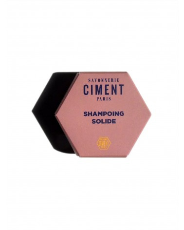 SHAMPOING SOLIDE - CIMENT - 65g