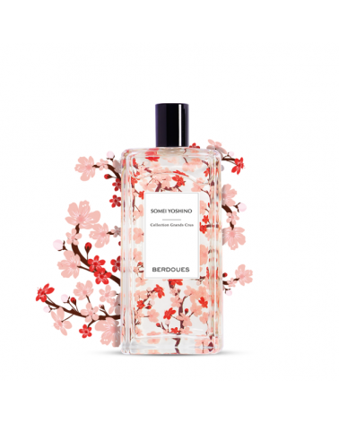 EAU DE PARFUM - BERDOUES - GRAND CRU SOMEI YOSHINO - 100 ML