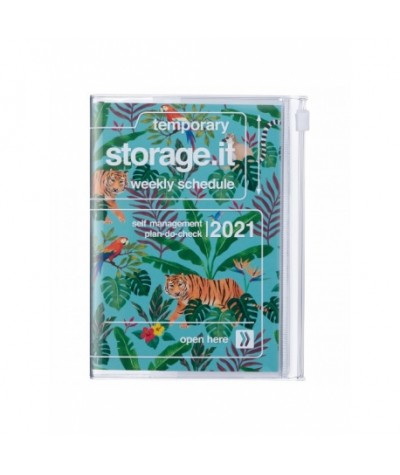 AGENDA 2021 - MARK'S - A5 - JUNGLE TURQUOISE