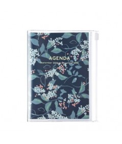 AGENDA 2021 - MARK'S - A5 - FLOWER NAVY
