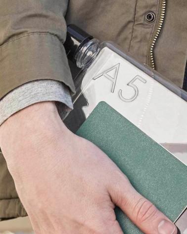 Bouteille, Gourde MEMOBOTTLE A5 - Ultra plate et Design  - L'interprète Concept Store