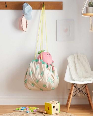 Sac rangement jouets - Tapis de jeu - CACTUS - Play & Go - L'interprète Concept Store