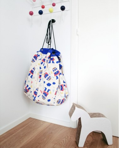 Sac rangement - Tapis de jeu SUPERHERO - Play & Go - My Name Is Simone - L'interprète Concept Store
