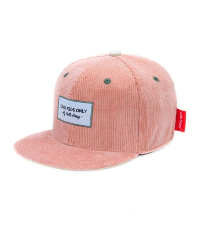 CASQUETTE - HELLO HOSSY - VELOURS - SWEET CANDY