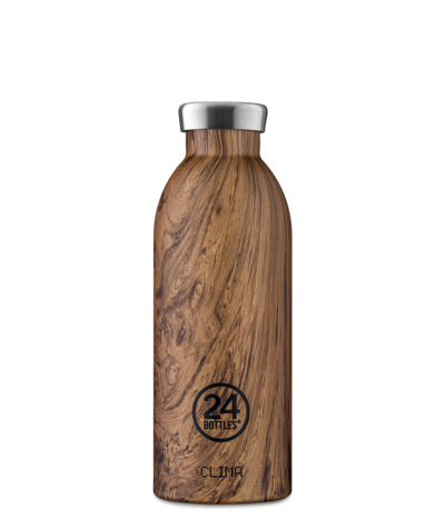 THERMOS 500 ML - 24BOTTLES - CLIMA BOTTLE WOOD SEQUOIA