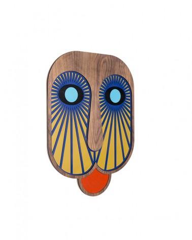 Masque Moderne Africain n°6 - WOODEN - Umasqu - L'interprète Concept Store