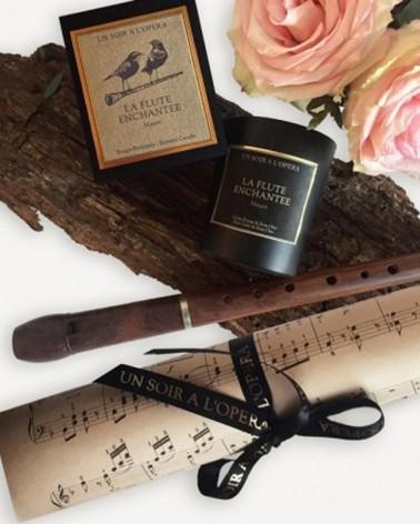 Parfums d'intérieur - Bougies parfumées  LA FLUTE ENCHANTÉE - 180G - L'interprète Concept Store