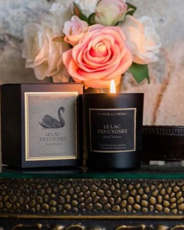 Fleurs Blanches Opéra Ballet Le Lac des Cygnes - Bougies parfumées  - L'interprète Concept Store