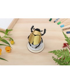 PUZZLE 3D - ASSEMBLI - SCARAB BEETLE