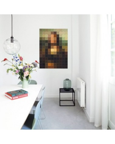 Décoration murale MONA LISA - Leonardo da Vinci - Tableau La Joconde - L'interprète Concept Store