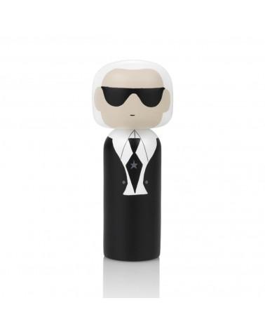 Poupée décorative en bois Kokeshi dédiée à Karl Lagerfeld - L'interprète Concept Store