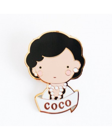 SKETCH INC - Broche COCO  CHANEL - Accessoires Femmes - L'interprète Concept Store
