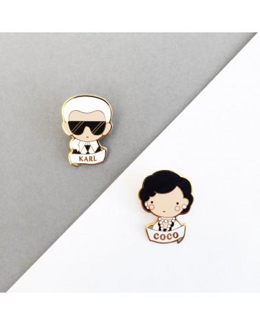 SKETCH INC - Broche  Karl Lagerfeld - Accessoires Femmes - L'interprète Concept Store