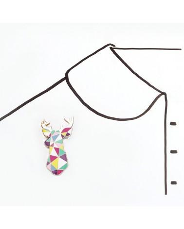 SKETCH INC - Broche CERF Graphique - Accessoires Femmes - L'interprète Concept Store