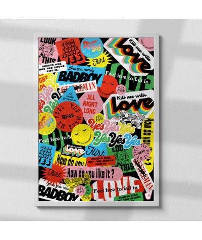 PUZZLE 1000 PIECES - PIECE & LOVE - POPUP