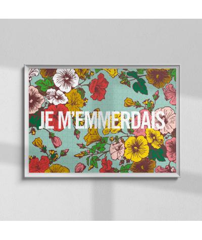 PUZZLE 1000 PIECES - PIECE & LOVE - JE M'EMMERDAIS