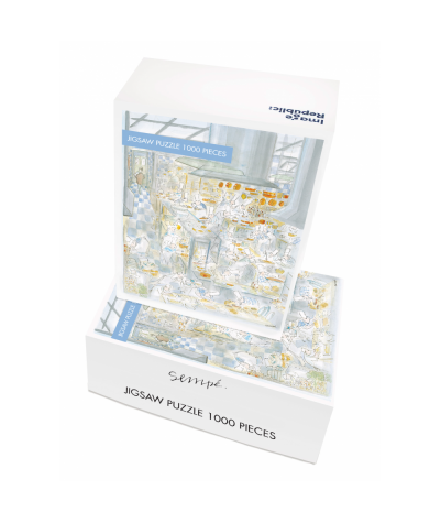 PUZZLE 48X68 CM - IMAGE REPUBLIC - SEMPE RESTAURANT 1000 PIECES