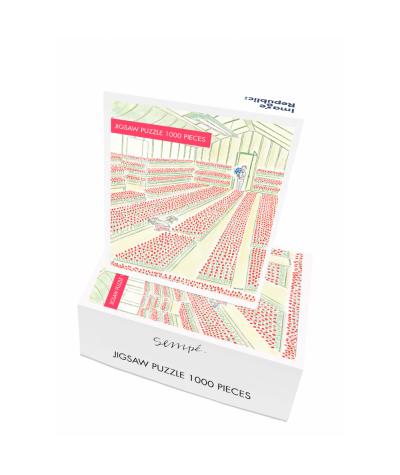 PUZZLE 48X68 CM - IMAGE REPUBLIC - SEMPE TULIPES 1000 PIECES