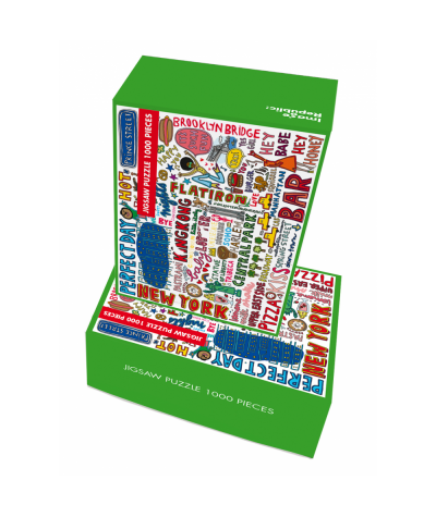 PUZZLE 48X68 CM - IMAGE REPUBLIC - SOLEDAD NEW YORK