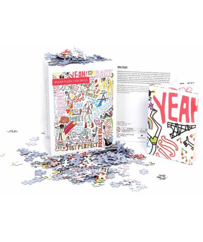 PUZZLE 48X68 CM - IMAGE REPUBLIC - SOLEDAD GRAFFITIS 1000 PIECES