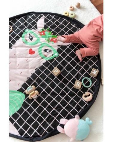 Sac rangement jouets - Tapis d'éveil 3 en 1 - LAMA - Play & Go - L'interprète Concept Store