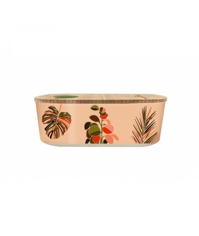 LUNCH BOX 500 ML - CHIC MIC -COLORFUL LEAVES - BIOLOCO PLANT