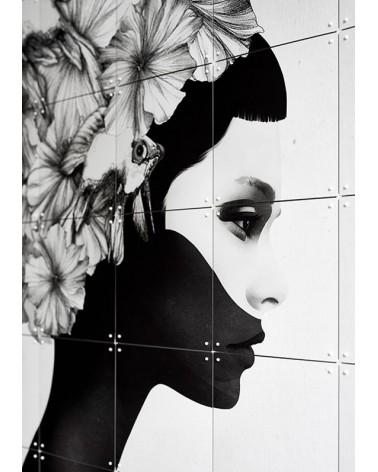 Composition murale reproduisant l'oeuvre Marianna signée Ruben Ireland - L'interprète Concept Store