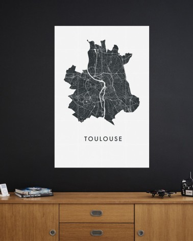 Plan de Toulouse by L'Interprète Concept Store
