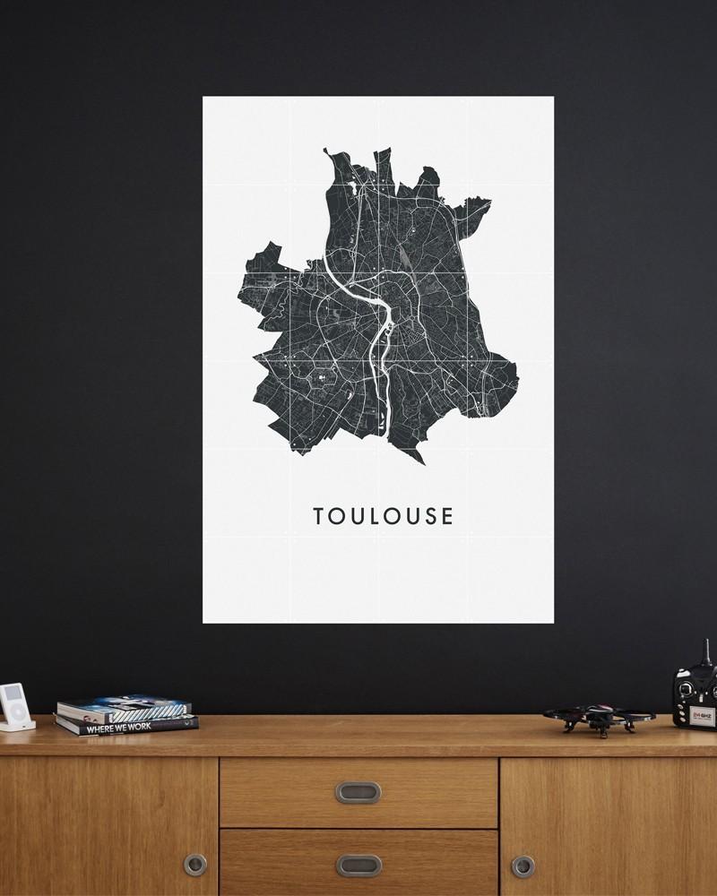 Plan de Toulouse by L'Interprète Concept Store