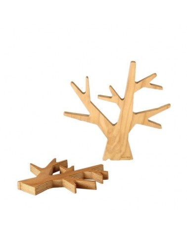 Dessous de plat - Arbre en bois Naturel - Renie Mère - Petit Modèle - L'interprète Concept Store