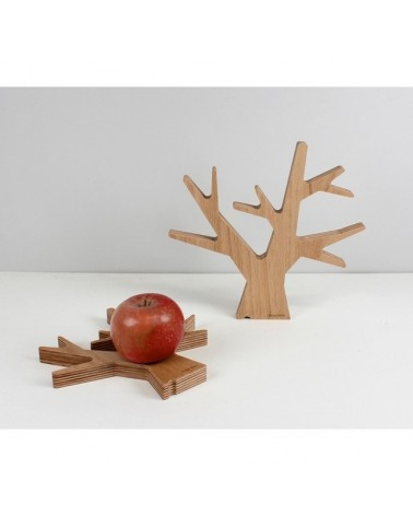 Dessous de plat - Arbre en bois Naturel - Renie Mère - Grand Modèle - L'interprète Concept Store
