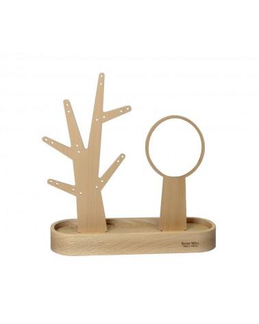 Arbre à bijoux et miroir 3 en 1 EDEN - Reine Mère  - L'interprète Concept Store