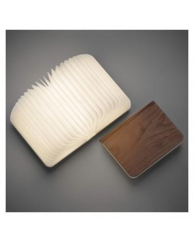 Lampe - Livre Lumio Classic - WALNUT - Lumière LED - L'interprète Concept Store
