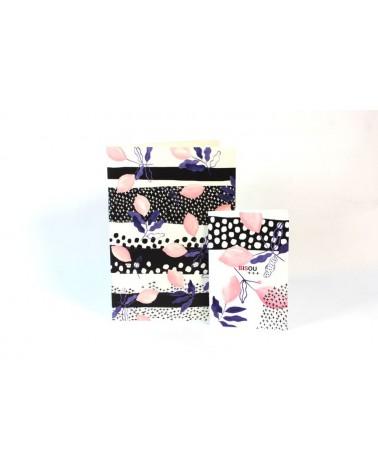 Cahier ligné motif citron signé Reine Mère - Girl Gang - L'interprète Concept Store
