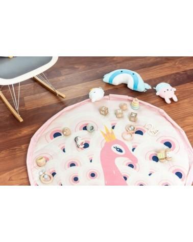 Sac rangement jouets - Tapis d'éveil 3 en 1 - PEACOCK - Play & Go - L'interprète Concept Store
