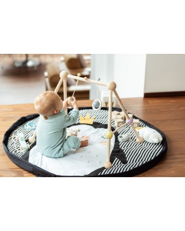 Sac rangement jouets - Tapis d'éveil 3 en 1 - PINGUIN - Play & Go - L'interprète Concept Store