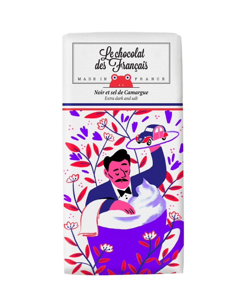 Tablette Noir 71% & Sel de Camargue - Le Chocolat de Français - L'interprète Concept Store