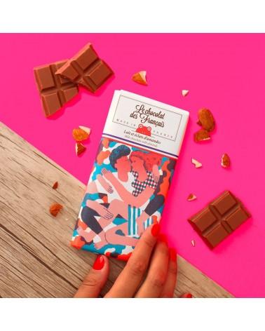 Tablette lait et éclats d'amande BIO - Le Chocolat des Français - L'interprète Concept Store