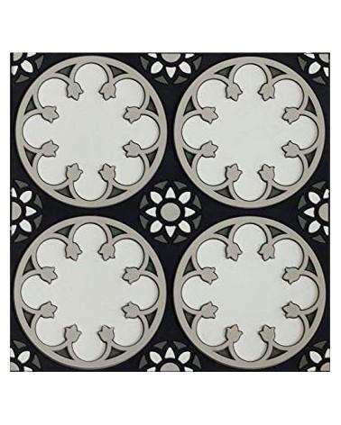 Dessous de plat SEJJADEH ROSACE - Silicone - Image d'Orient - 18x18cm - L'interprète Concept Store