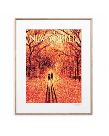 Affiche Image Republic - The new yorker 165 - Drooker autumn leaves - L'interprète Concept Store