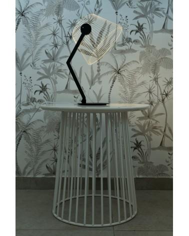 Lampe lumière LED 3D - Ziggi Black - Studio Cheha - L'interprète Concept Store