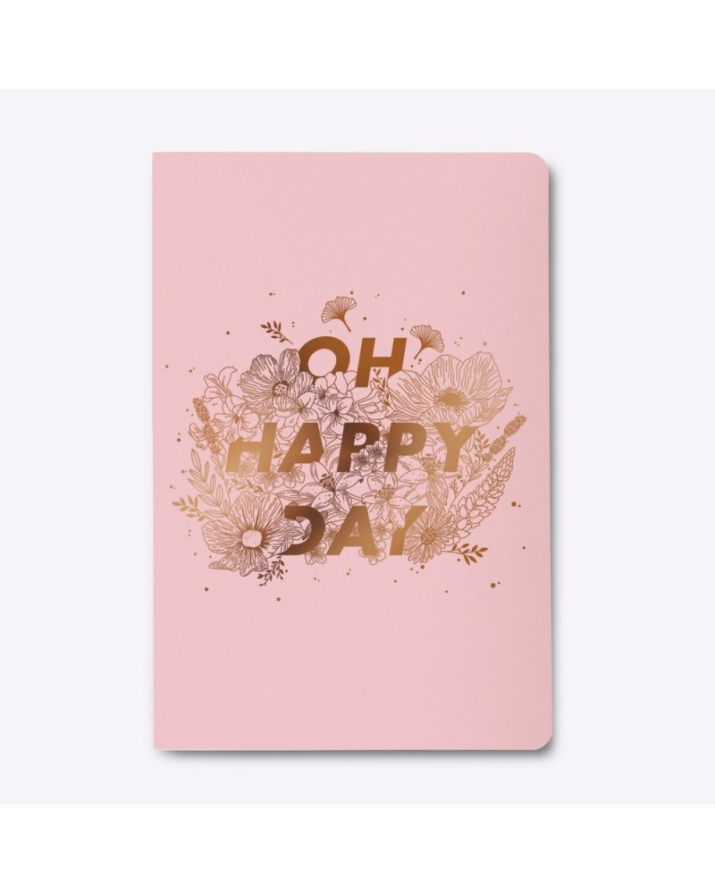 Carnet Oh Happy Day signée Les Éditions du Paon - L'interprète Concept Store