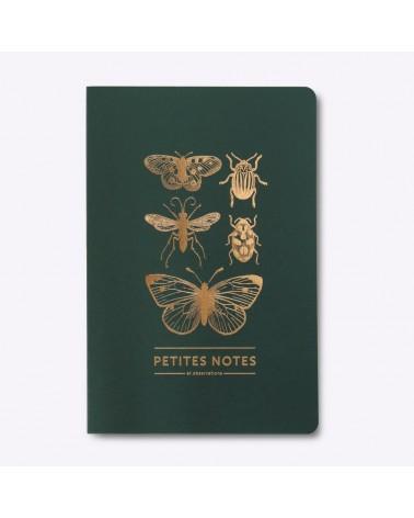 Carnet Dos Carré - Papillons & Cie - Les Editions du Paon  - L'interprète Concept Store